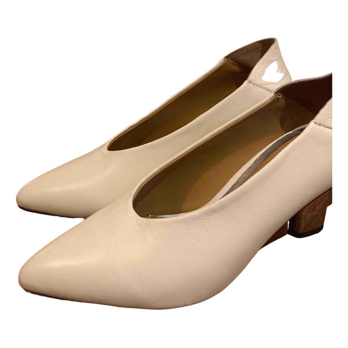 Jaggar - Escarpins   pour femme en cuir - blanc