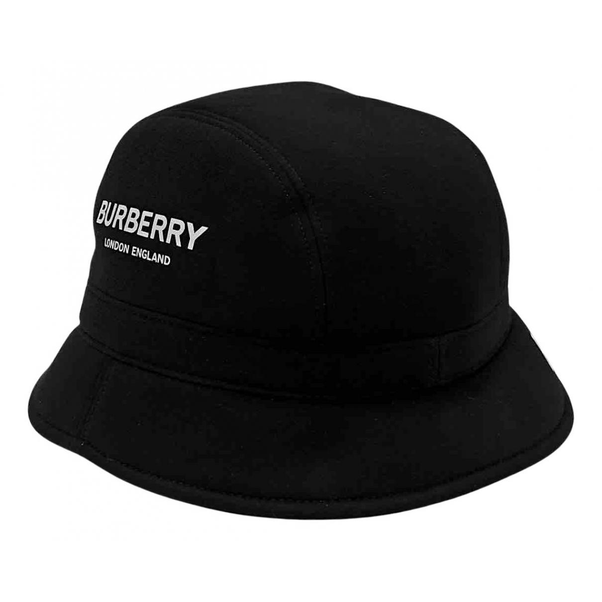 Burberry N Black Cotton hat & pull on hat for Men L International