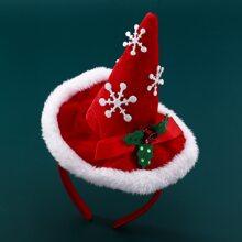 Christmas Hat Hair Hoop