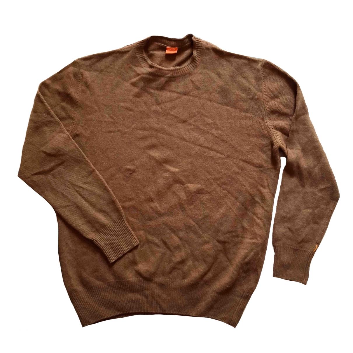 Boss Orange \N Brown Wool Knitwear & Sweatshirts for Men XL International