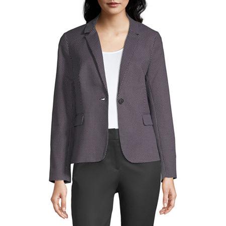 Liz Claiborne Suit Jacket, Medium , Black