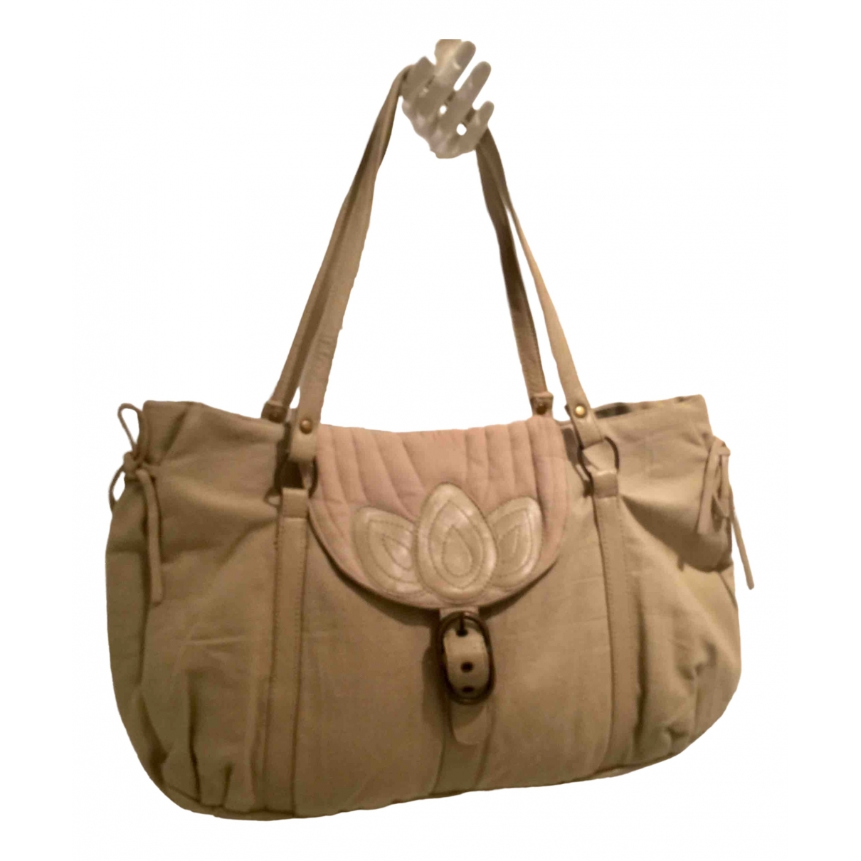 Polder \N Khaki Cotton handbag for Women \N