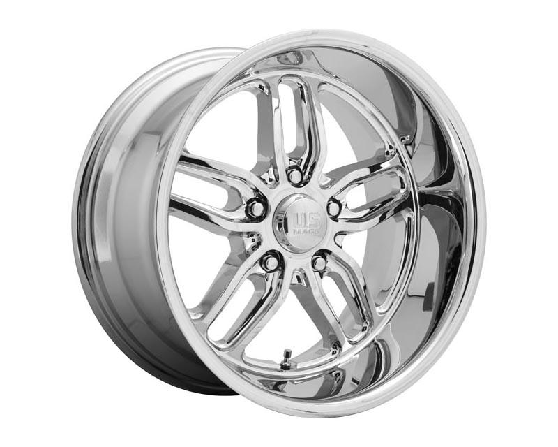 US Mag U127 CTEN Wheel 22x8.5 5X5 1mm Chrome Plated