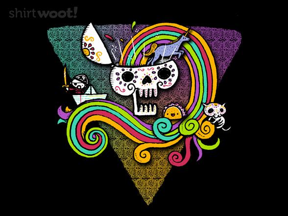 Candy Skull T Shirt