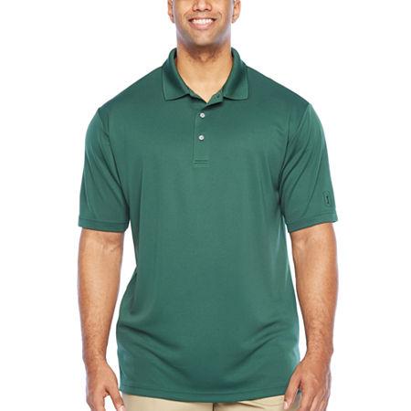 PGA TOUR Mens Short Sleeve Polo Shirt - Big and Tall, 3x-large Tall , Green