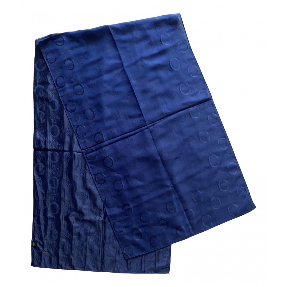 Celine - Foulard   pour femme en soie - bleu