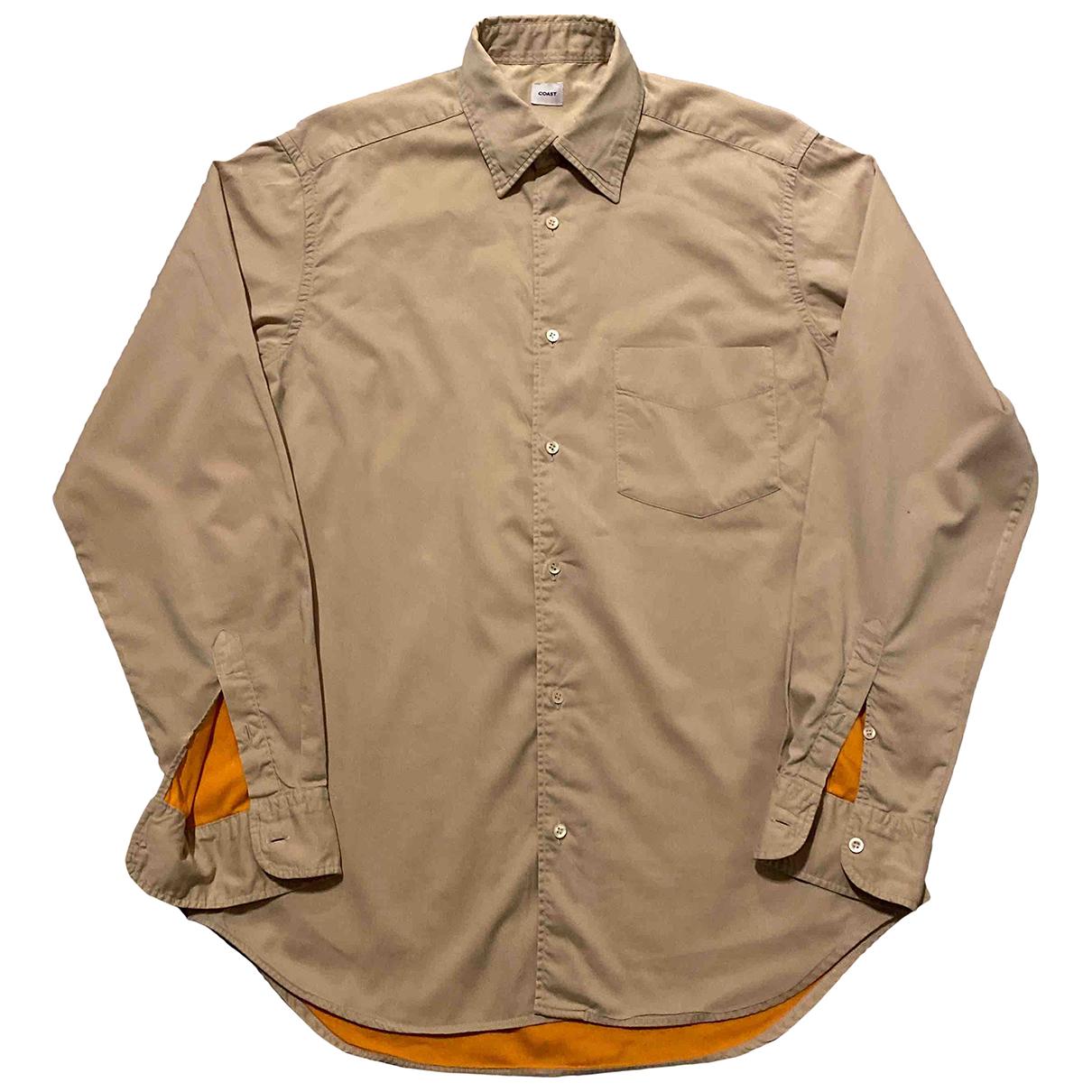 Coast \N Hemden in  Beige Baumwolle