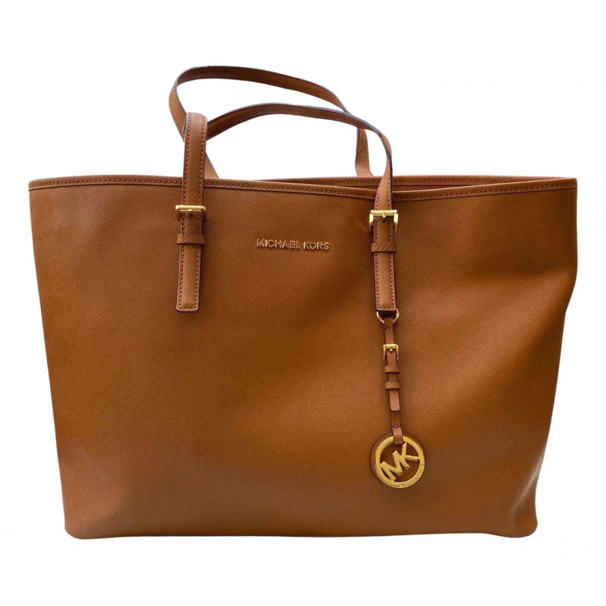 Michael Kors N Brown Leather handbag for Women N