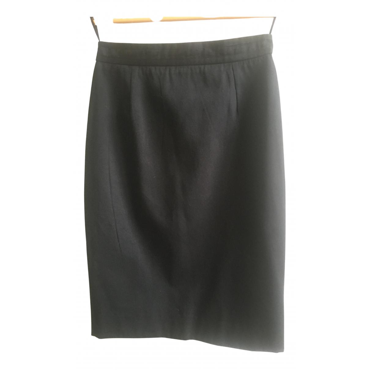 Givenchy N Black Cotton skirt for Women 38 FR