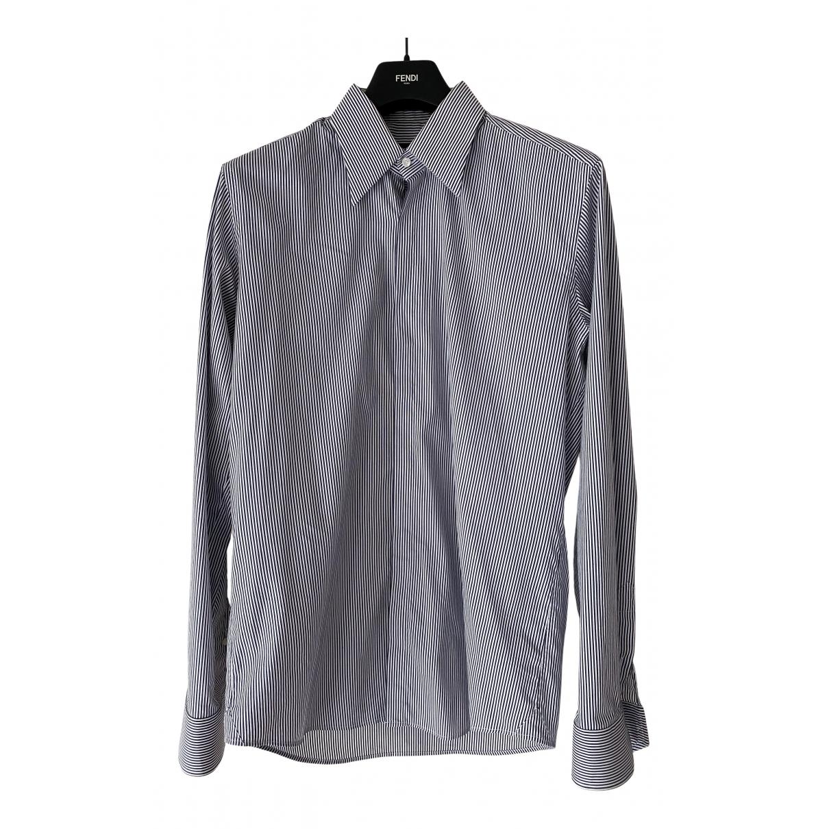 Fendi \N Hemden in  Blau Baumwolle