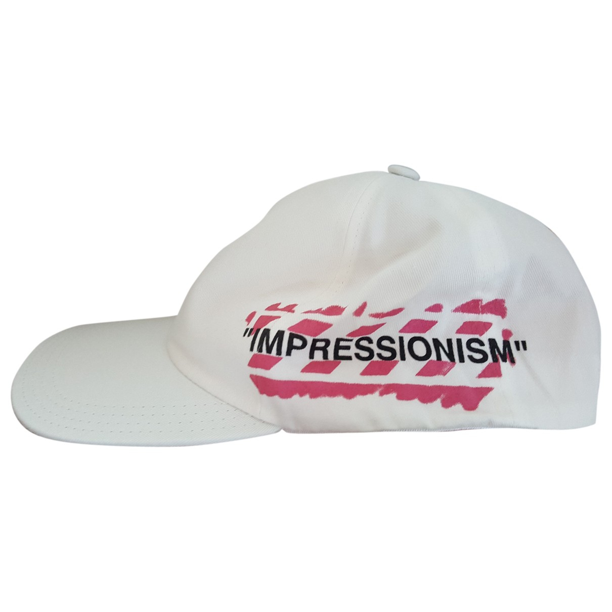 Off-white - Chapeau & Bonnets   pour homme en coton - blanc