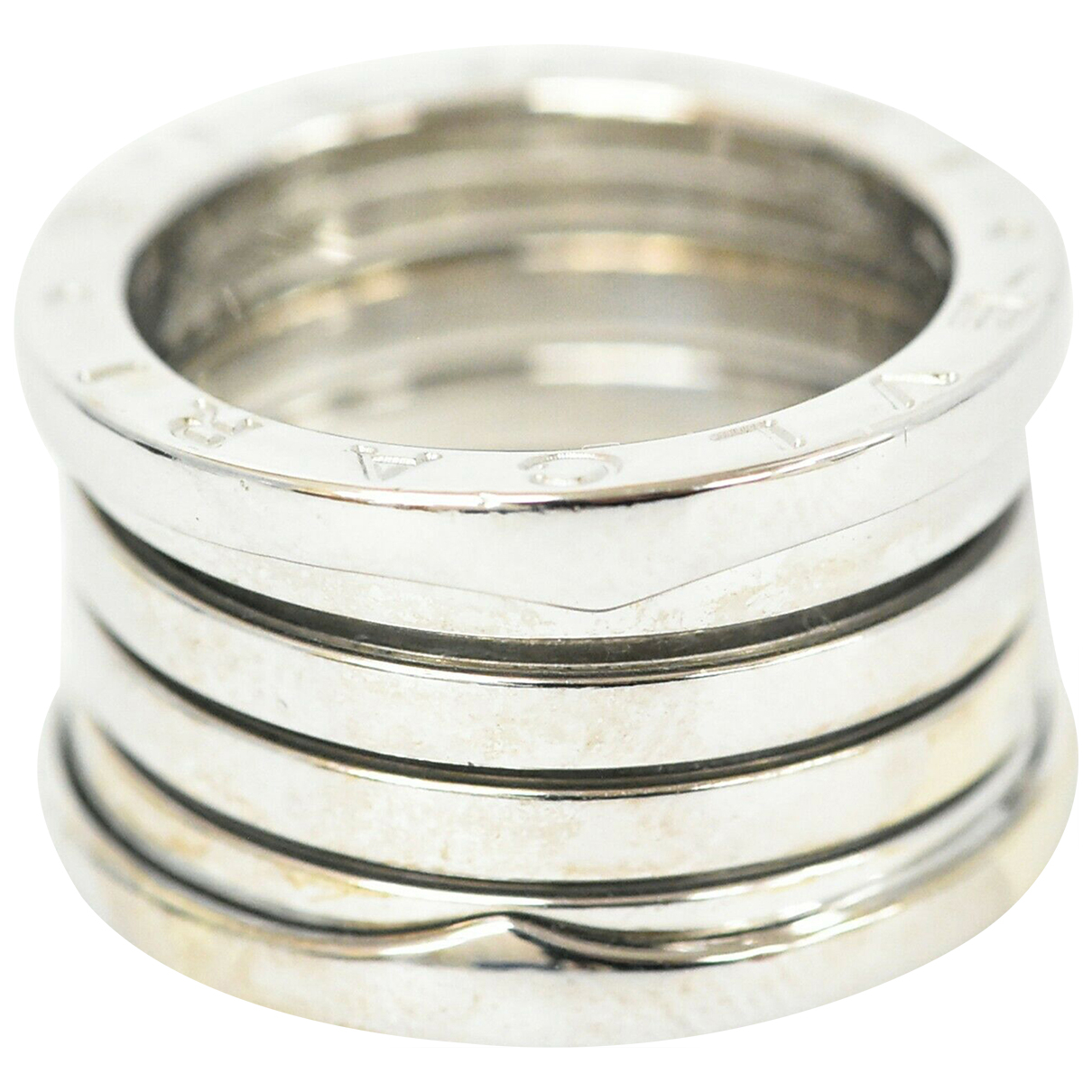 Bvlgari \N Ring in  Silber Weissgold