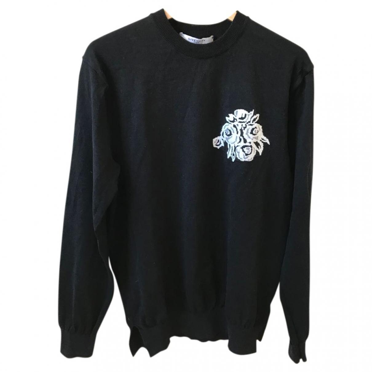 Givenchy \N Black Cotton Knitwear & Sweatshirts for Men L International