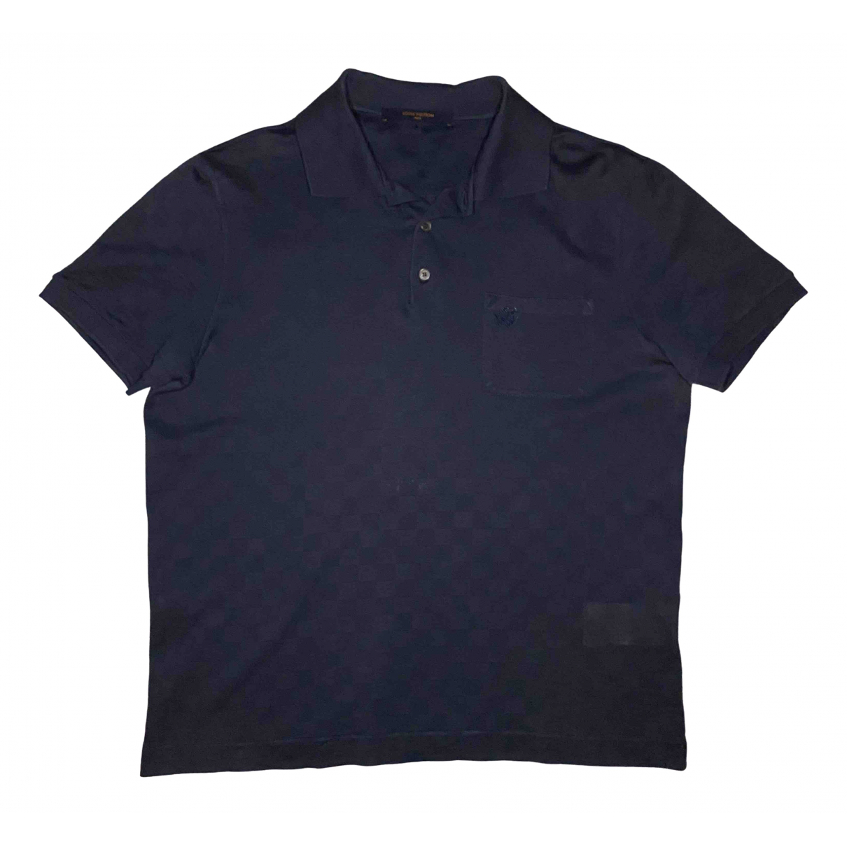 Louis Vuitton \N Poloshirts in  Marine Baumwolle