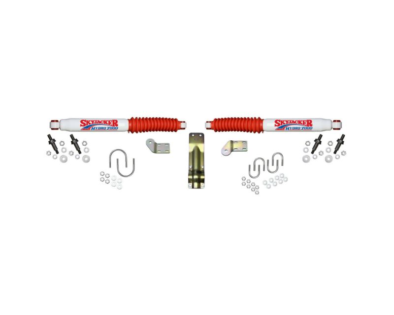 Skyjacker 7254 Steering Stabilizer Dual Kit For 4-8.5 Inch Lifts