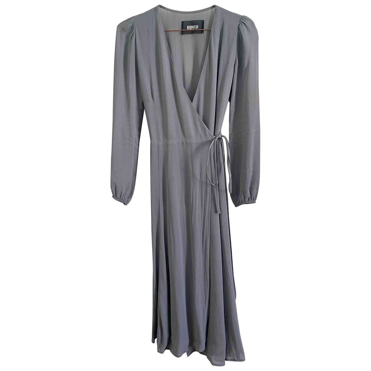 Reformation \N Blue dress for Women XS International