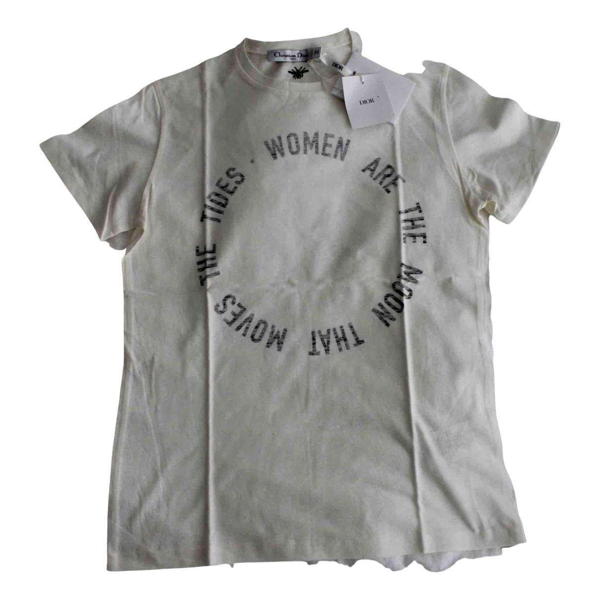Dior N Ecru Cotton  top for Women S International