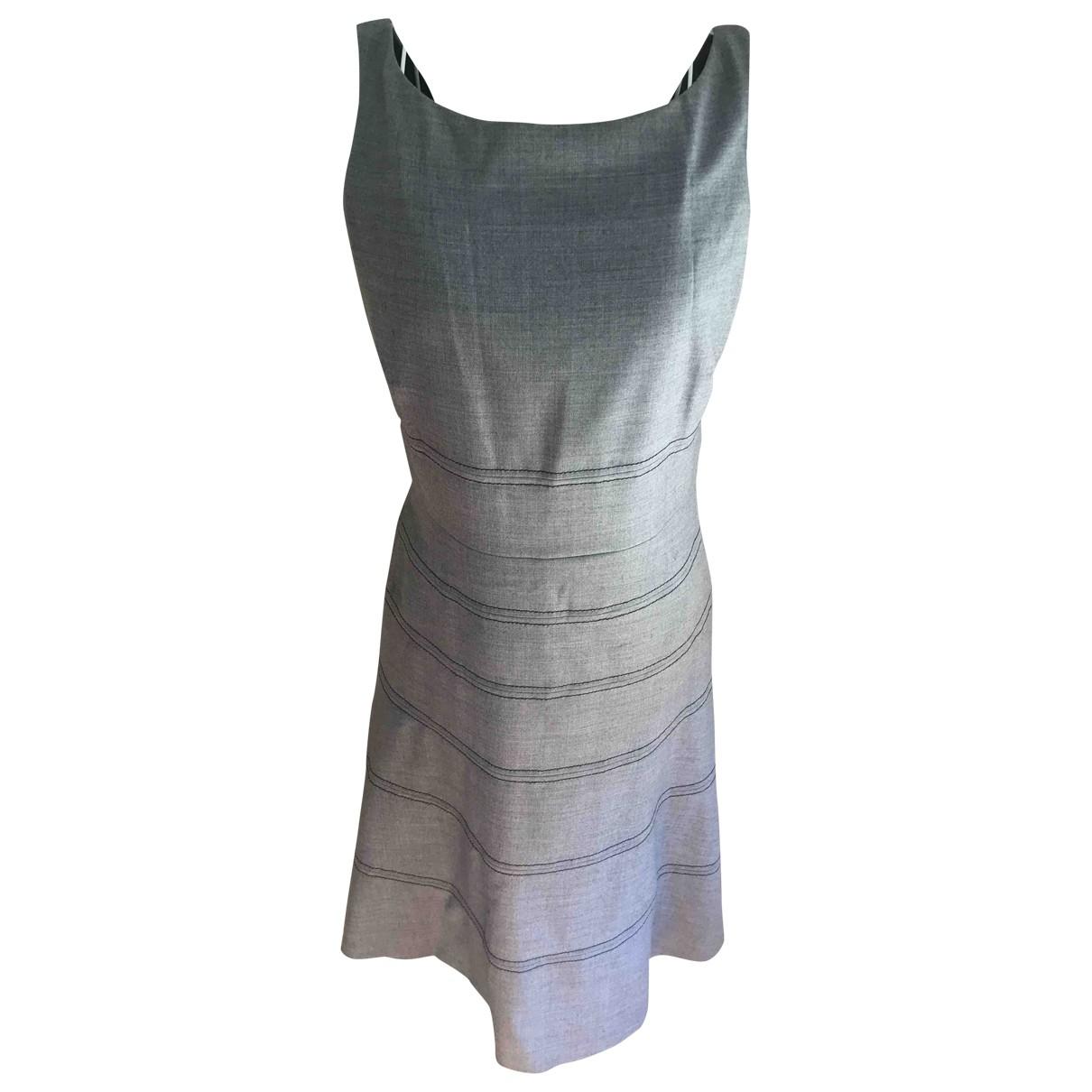 Coast \N Kleid in  Grau Polyester