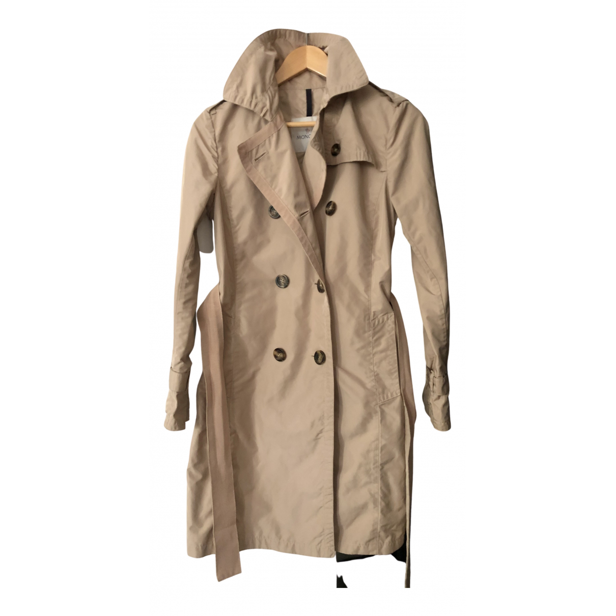Moncler \N Trench in  Beige Polyester