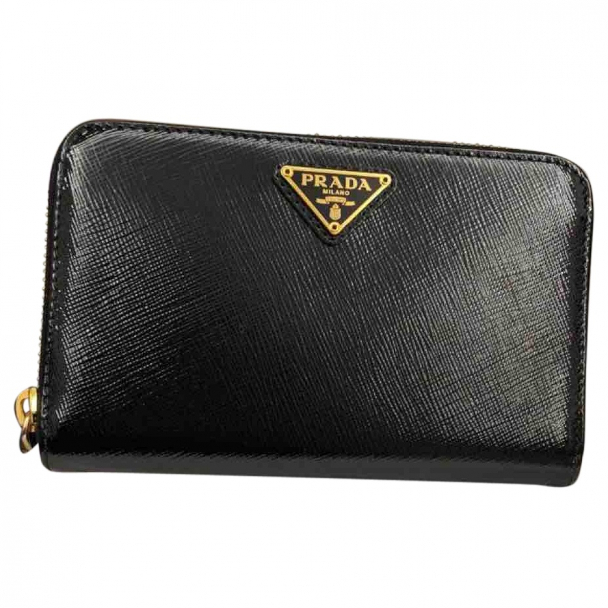 Prada \N Black Leather Purses, wallet & cases for Women \N