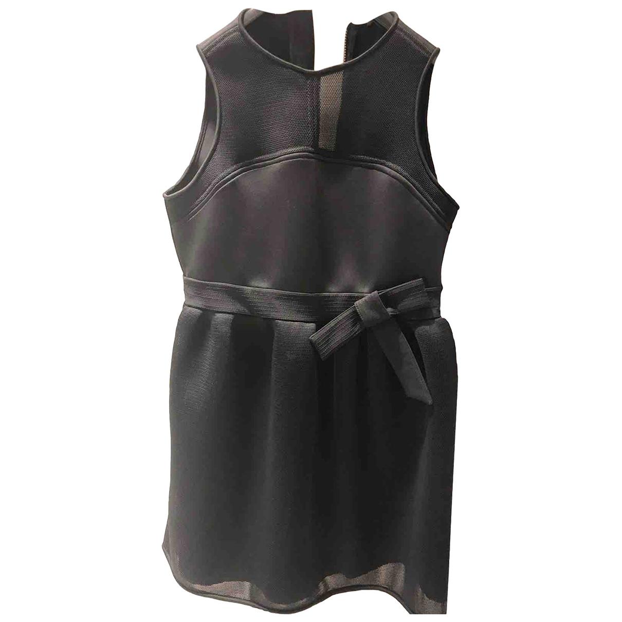 Ermanno Scervino - Robe   pour femme en coton - elasthane - noir