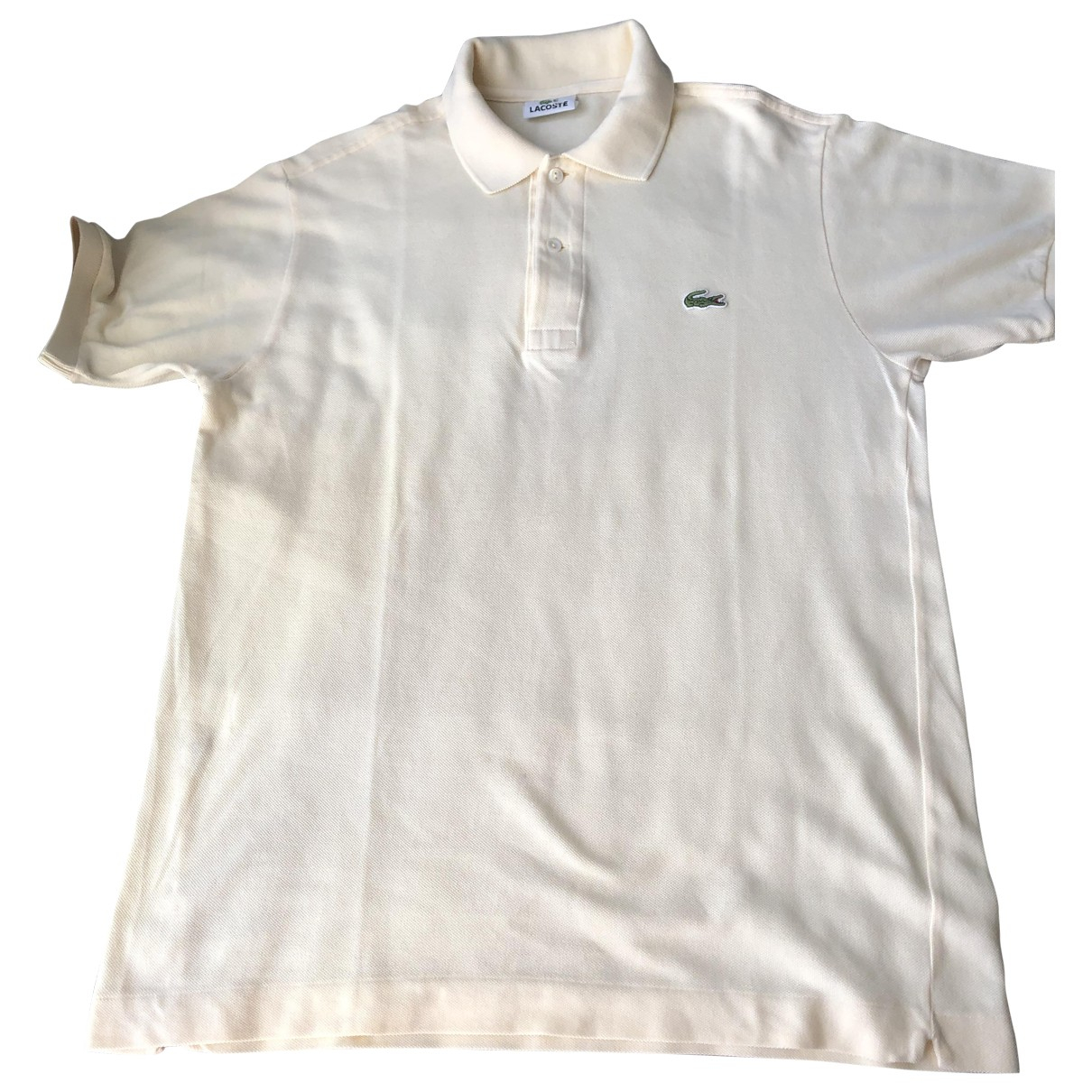Lacoste \N Beige Cotton Polo shirts for Men L International