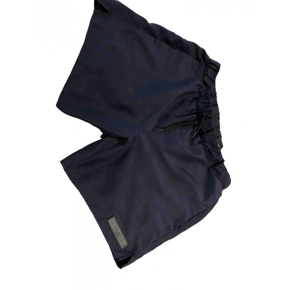 Sandro \N Badeanzug in  Blau Polyester