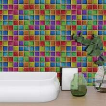 19sheets Mosaic Pattern Wall Sticker