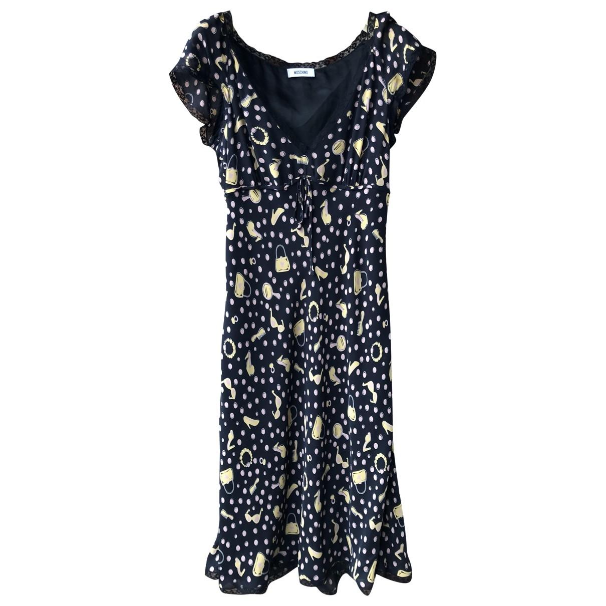 Moschino \N Black Silk dress for Women 40 FR