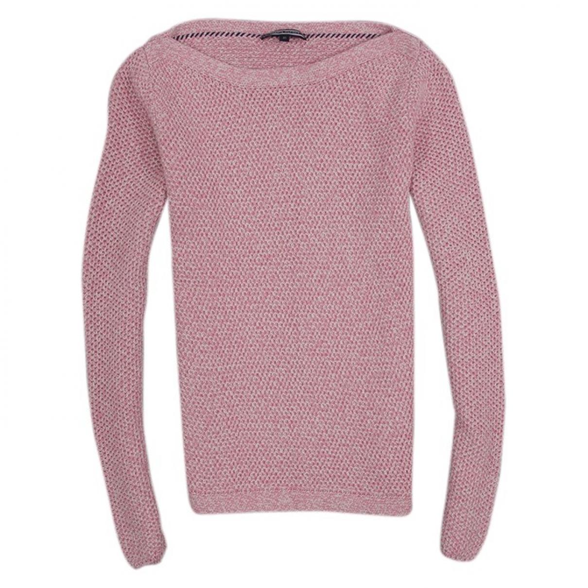 Tommy Hilfiger \N Pink Cotton Knitwear for Women XS International