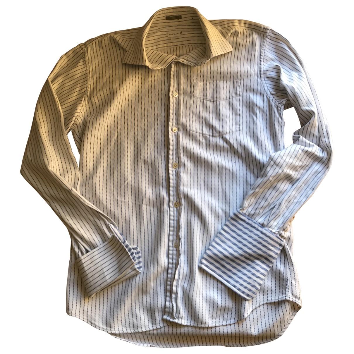 Paul Smith - Chemises   pour homme en coton - blanc