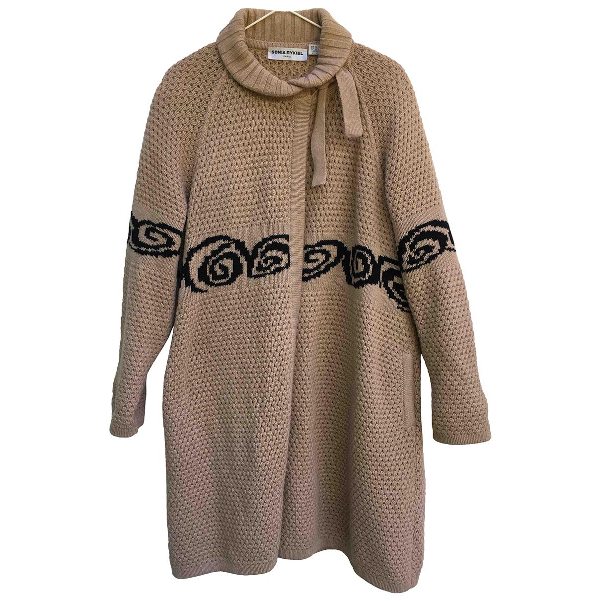 Sonia Rykiel N Beige Wool jacket for Women 38 FR