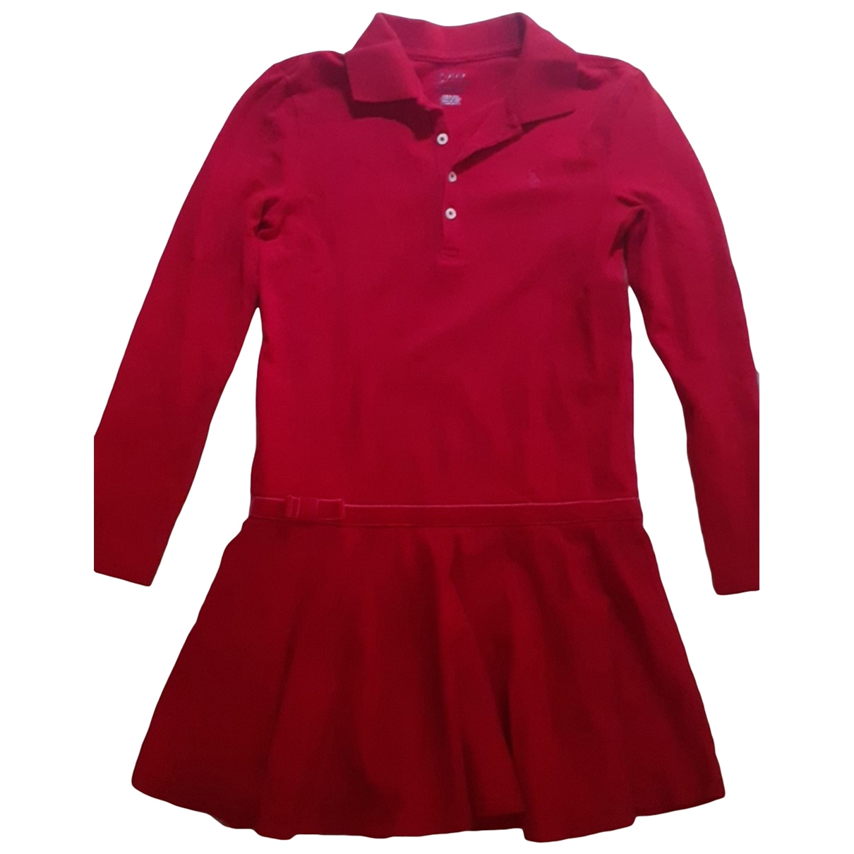 Polo Ralph Lauren \N Red Cotton dress for Kids 8 years - up to 128cm FR