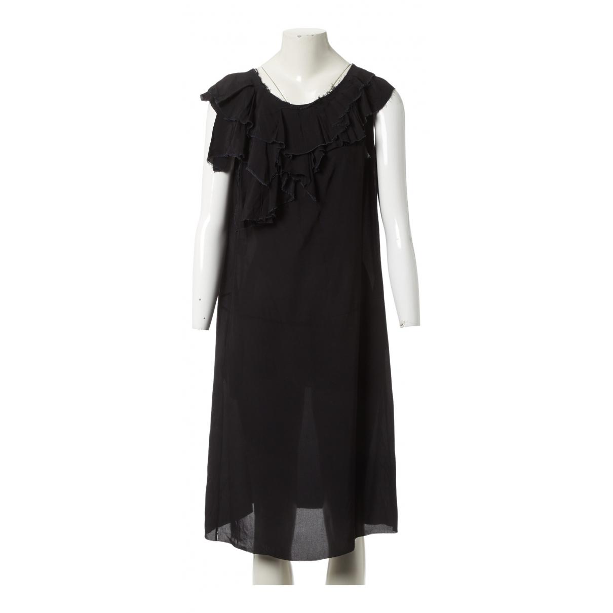 Marni \N Kleid in  Schwarz Viskose