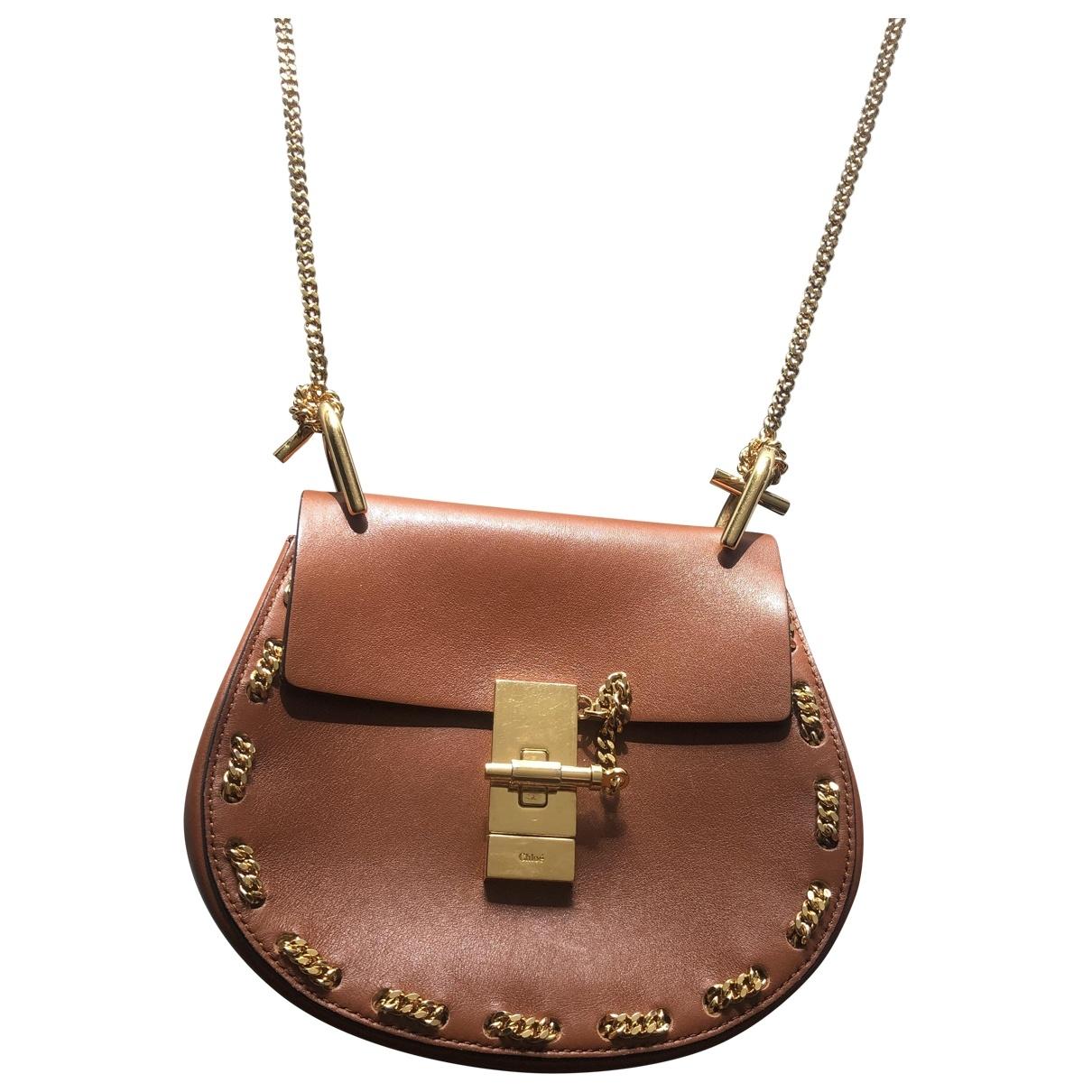 Chloé Drew Camel Leather handbag for Women \N