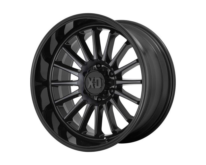 XD Series XD85729068400 XD857 Whiplash Wheel 20x9 6x139.7 0 Gloss Black With Gray Tint
