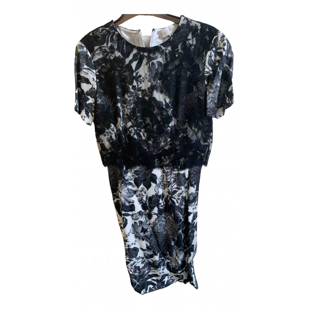 Stella Mccartney - Robe   pour femme en coton - elasthane - noir
