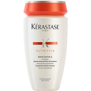 Kerastase Soin des cheveux Nutritive Bain Satin 2 Avec pompe 500 ml