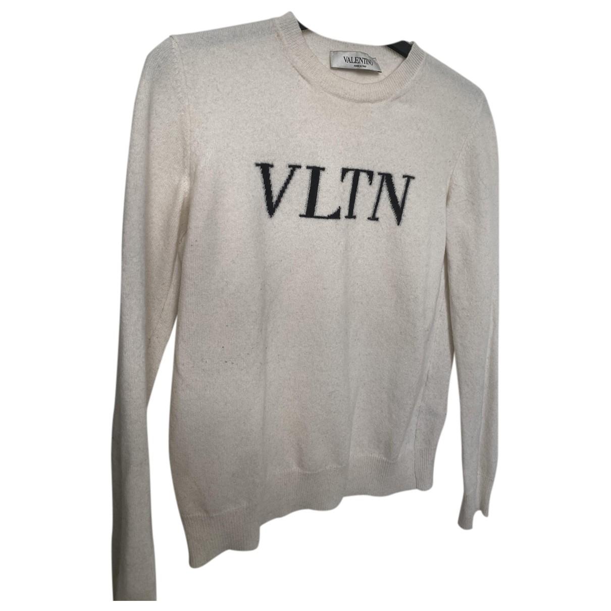 Valentino Garavani - Pull   pour femme en laine - blanc