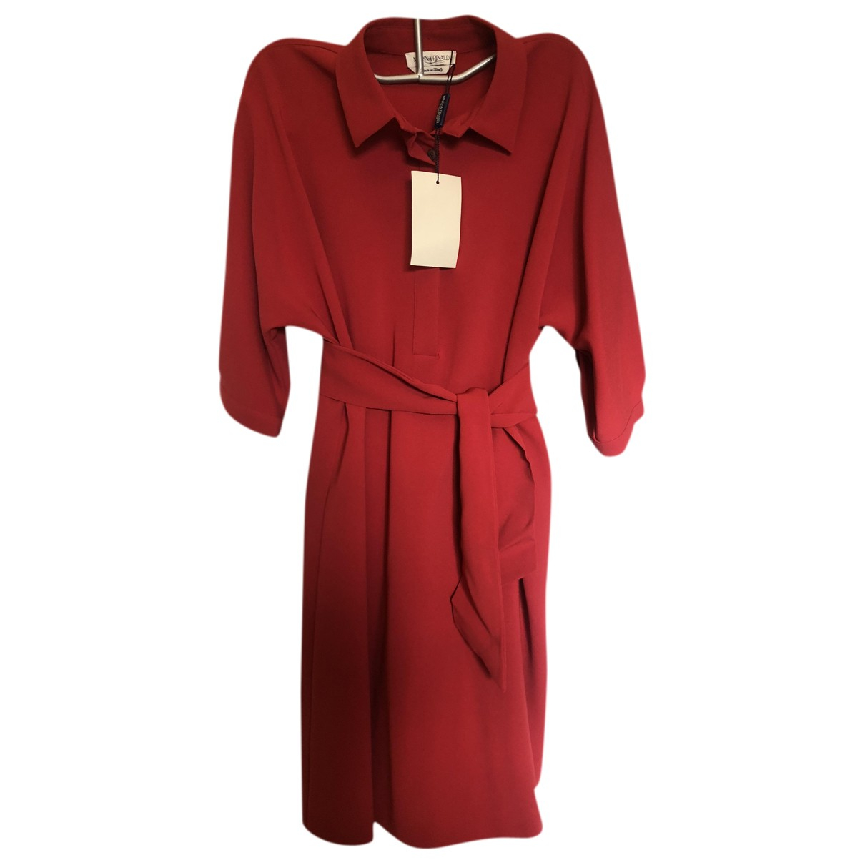 Autre Marque - Robe   pour femme - rouge