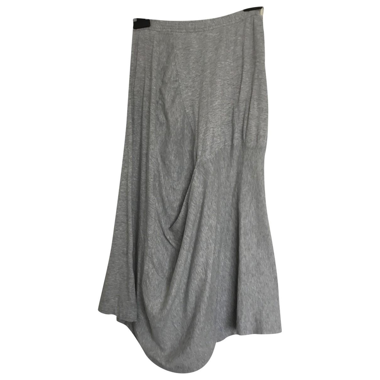 Comme Des Garcons \N Grey Cotton skirt for Women M International