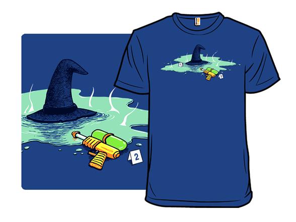 The Steaming Gun T Shirt