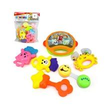 6 Stuecke Kleinkind Spielzeug mit Karikatur Tier Design