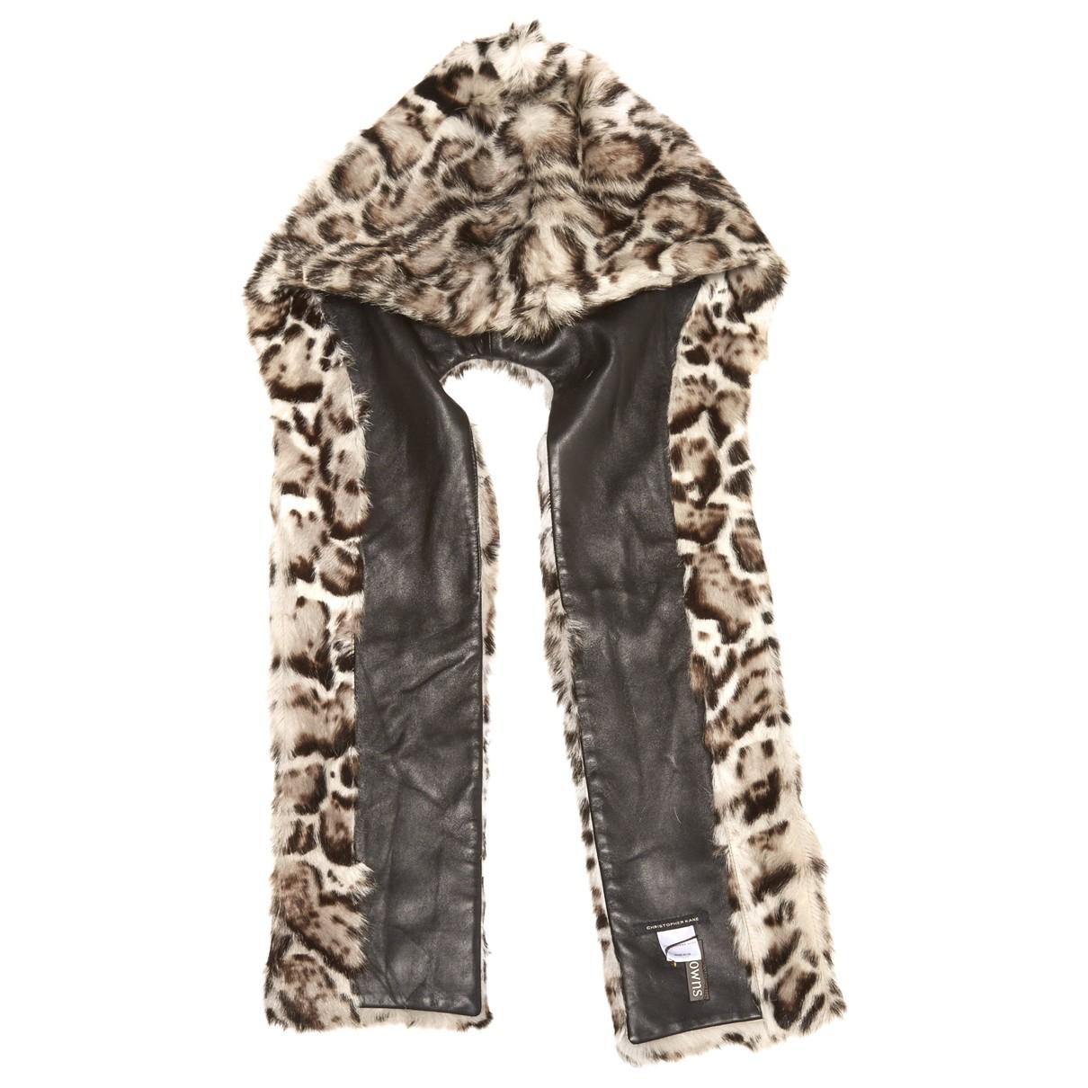Christopher Kane \N Fur scarf for Women \N