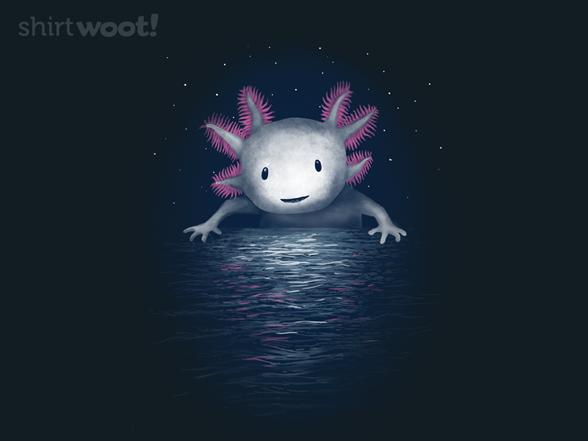 Axolotl Moon T Shirt