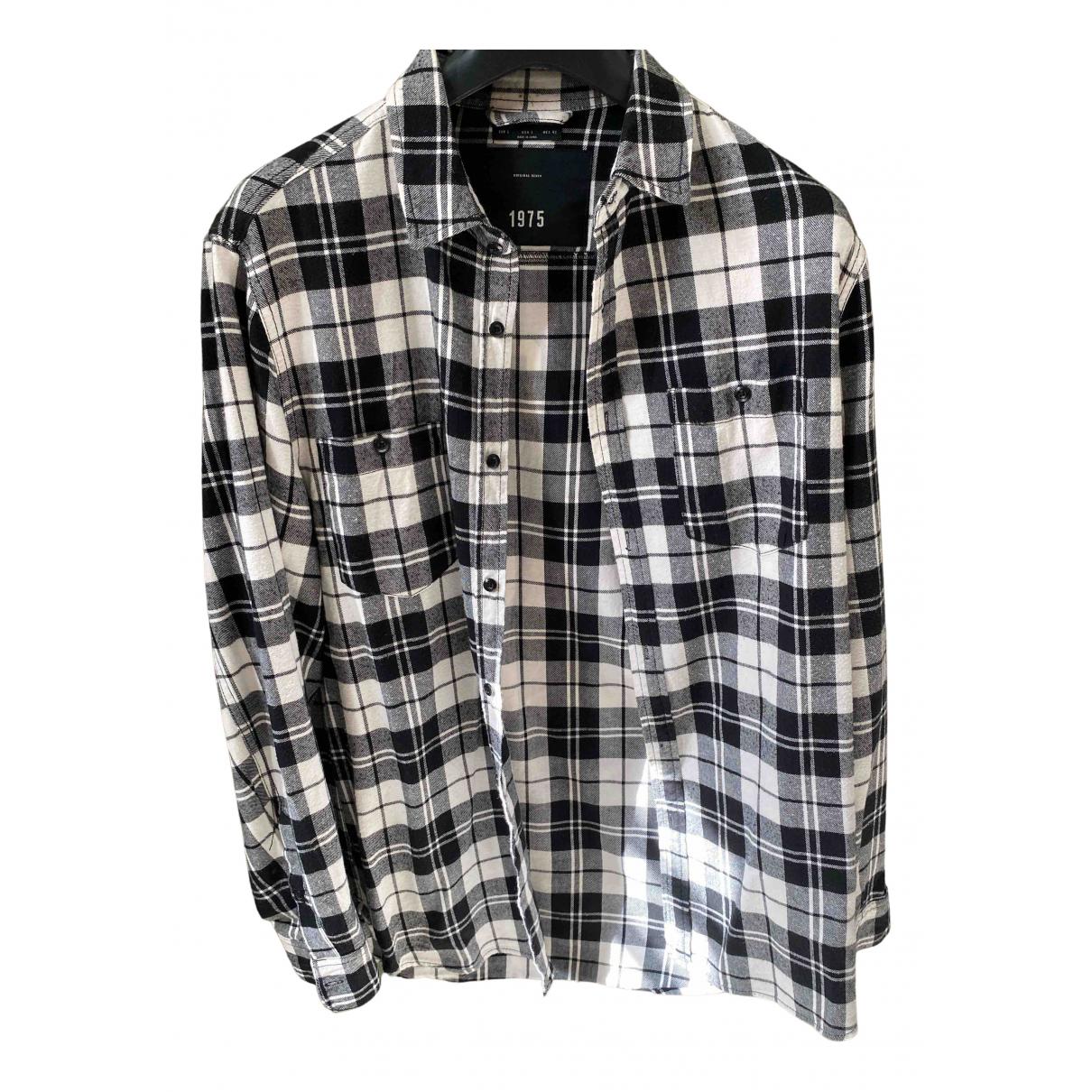 Zara - Chemises   pour homme en coton - noir