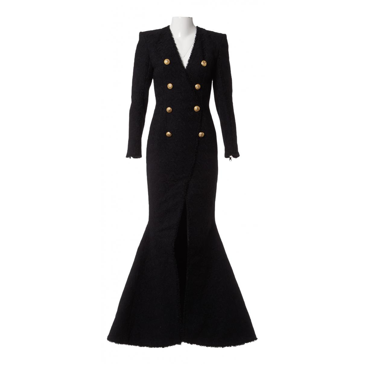Maxi vestido Tweed Balmain