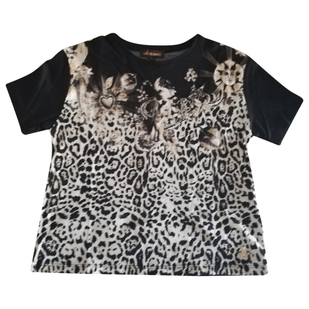 Roberto Cavalli \N Black Cotton  top for Kids 6 years - up to 114cm FR
