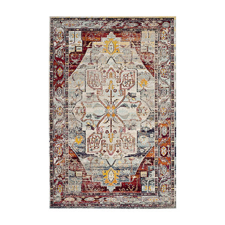 Safavieh Crystal Collection Beaufort Oriental Area Rug, One Size , Multiple Colors