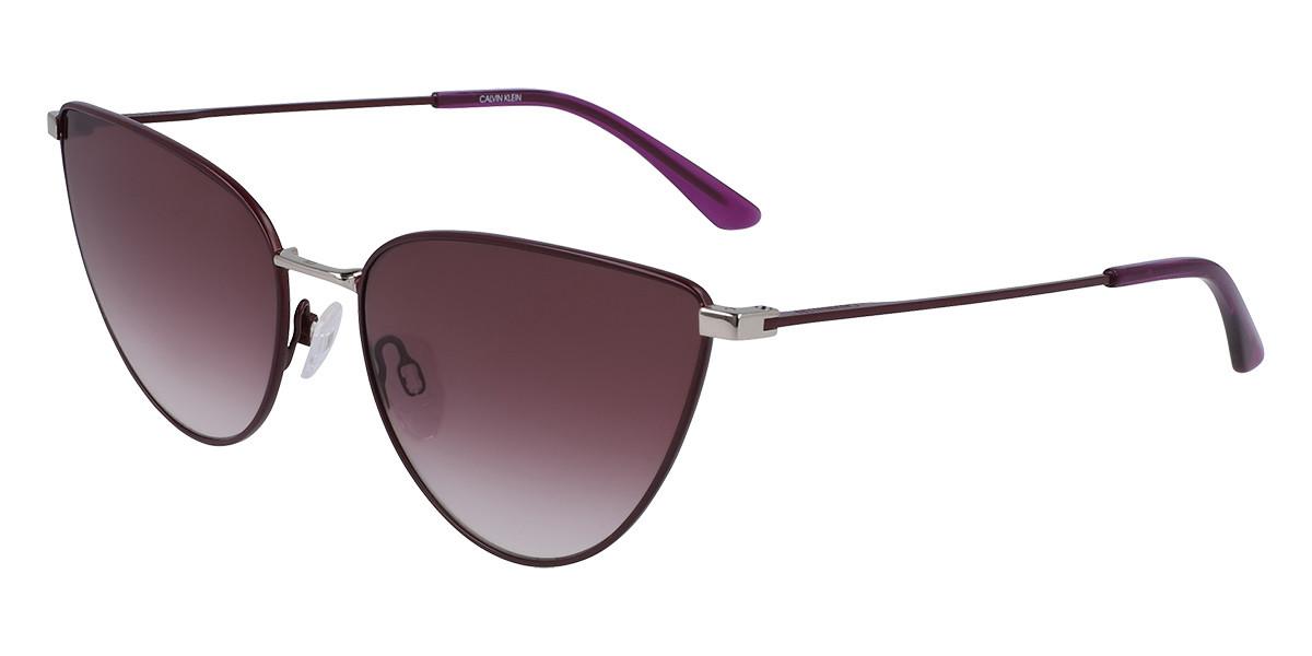 Calvin Klein CK20136S 511 Women's Sunglasses Violet Size 58